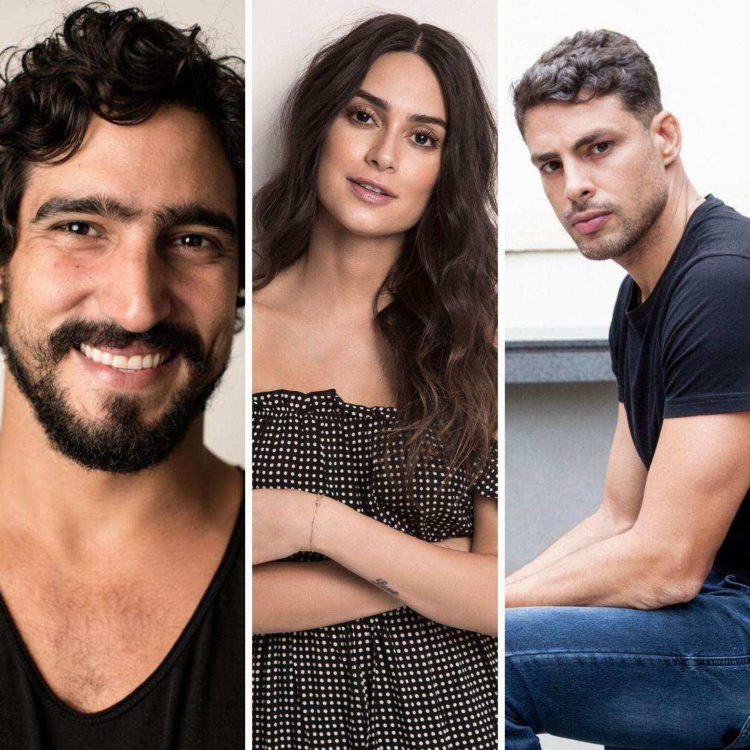 Thaila Ayala, Renato Góes e Cauã Reymond: embaixadores do Camarote Verão