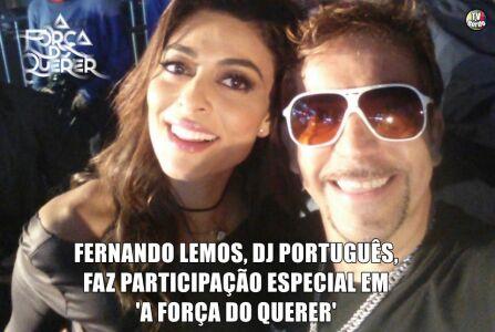 DJ Português faz participação especial em