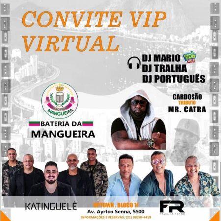 Convite VIP Virtual