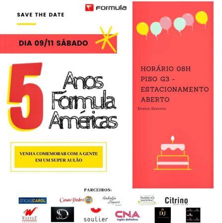 5 Anos Fórmula Américas